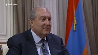 Հայաստանի նախագահը նշանակեց 12 նախարարներին