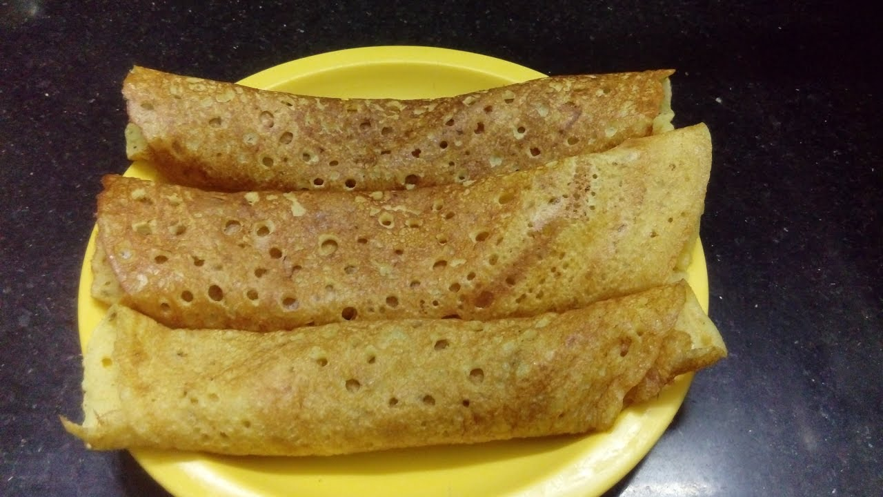 Rava Cake Recipe In Marathi Video: Rava Dosa Recipe In Marathi By Archana