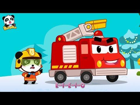 Download Youtube: Panda Kiki, Brave Fireman | Fire Truck's New Mission | Christmas Song | BabyBus