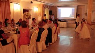 Поздравление через скайп на свадьбе 11.07.15  arthall.od.ua