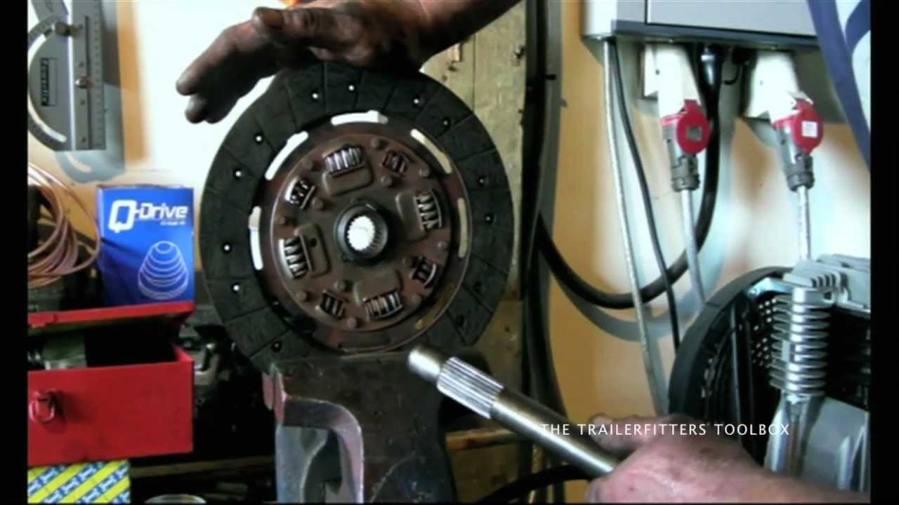clutch plate faults when a rattle is clutch plate springs and not a gearbox fault  [ 1280 x 720 Pixel ]