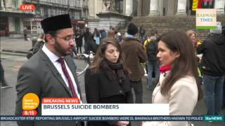 iTV GMB: Belgian Ahmadiyya Muslim Imam discusses Brussels terror attacks