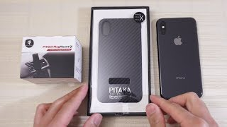 Pitaka Aramid Case and Magmount Qi for iPhone X!