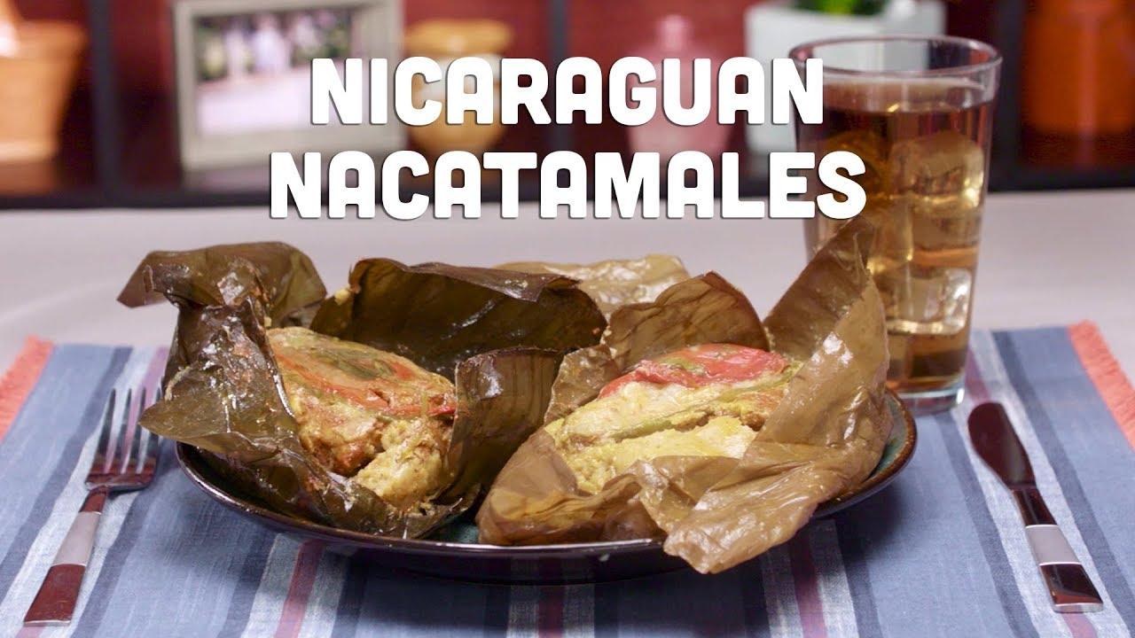 Nicaraguan food nacatamal