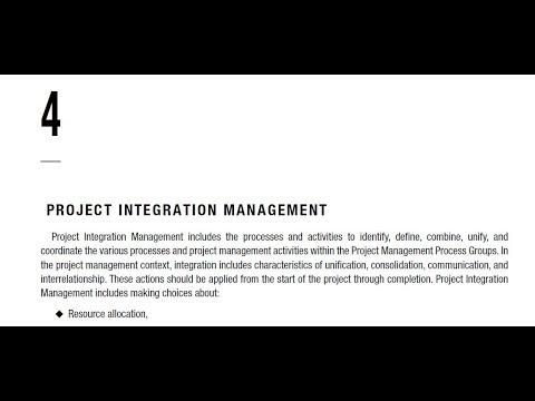 (4). Project Integration Management- PMBOK Guide 6th Edition (Arabic)-Part 1