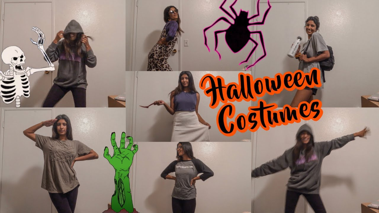 [VIDEO] - 10 LAST-MINUTE HALLOWEEN COSTUMES IF YOU DON'T KNOW WHAT TO WEAR 1