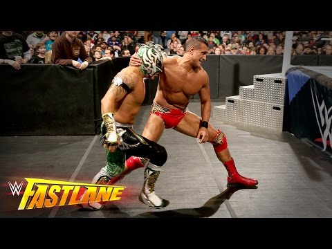 Kalisto vs. Alberto Del Rio - 2-out-of-3 Falls U.S. Title Match: WWE Fastlane 2016 Kickoff