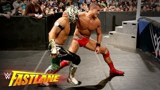 Kalisto vs. Alberto Del Rio - 2-out-of-3 Falls U.S. Title Match: WWE Fastlane 2016 Kickoff