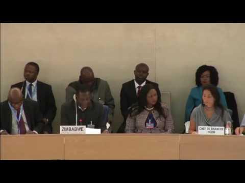 Zimbabwe Emmerson Mnagawagwa United Nations Meeting Full 2016