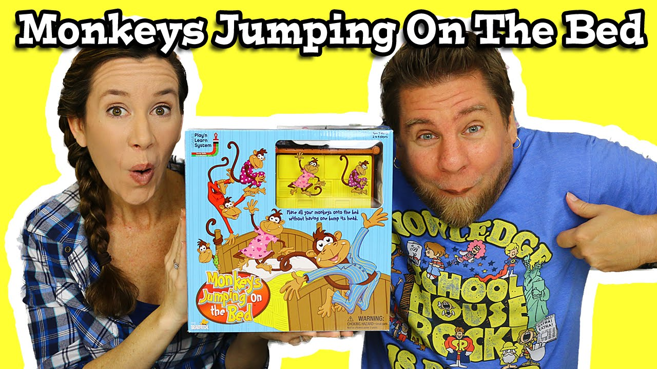 Monkeys Jumping On The Bed Game Youtube