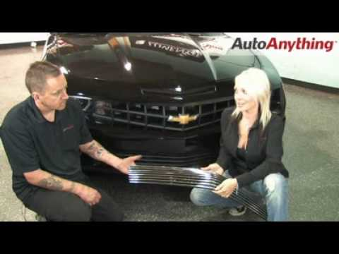 Install A Street Scene Grill On The 2010 Chevy Camaro - AutoAnything How-To