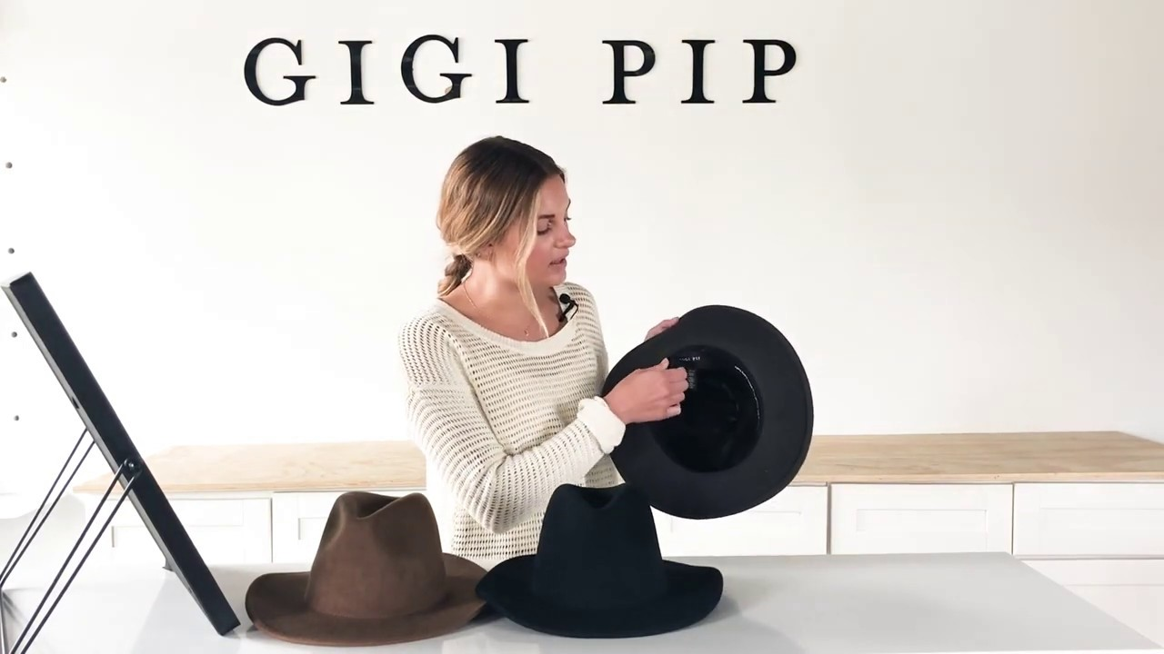 f0132a0e LEO : The Perfect Flop Fedora. Gigi Pip