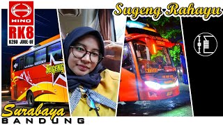 Naik TAXI Merah Sugeng Rahayu Surabaya Bandung