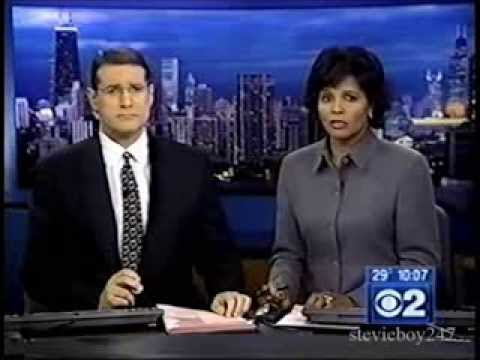 WBBM-TV Chicago - CBS 2 News at 10PM (February 5th, 2004)
