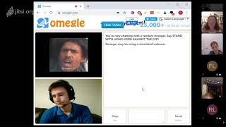 Deep chats on Omegle LIVE