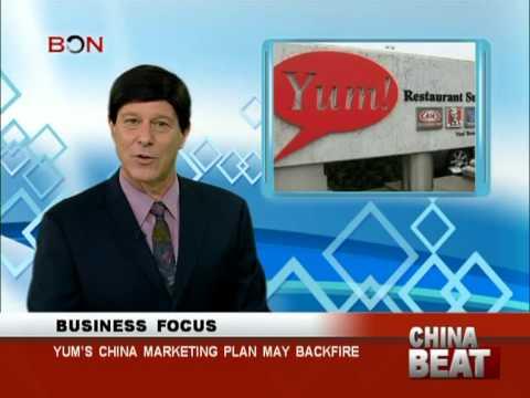Yum's china marketing plan may backfire - China Beat - Dec 5 ,2013 - BONTV China