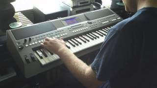 The New Yamaha PSR-S670 Keyboard DJ Styles