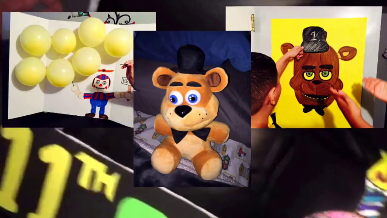Ideas five nights at freddy party - Diy Five Nights At Freddy S Birthday Party Decorating Ideas