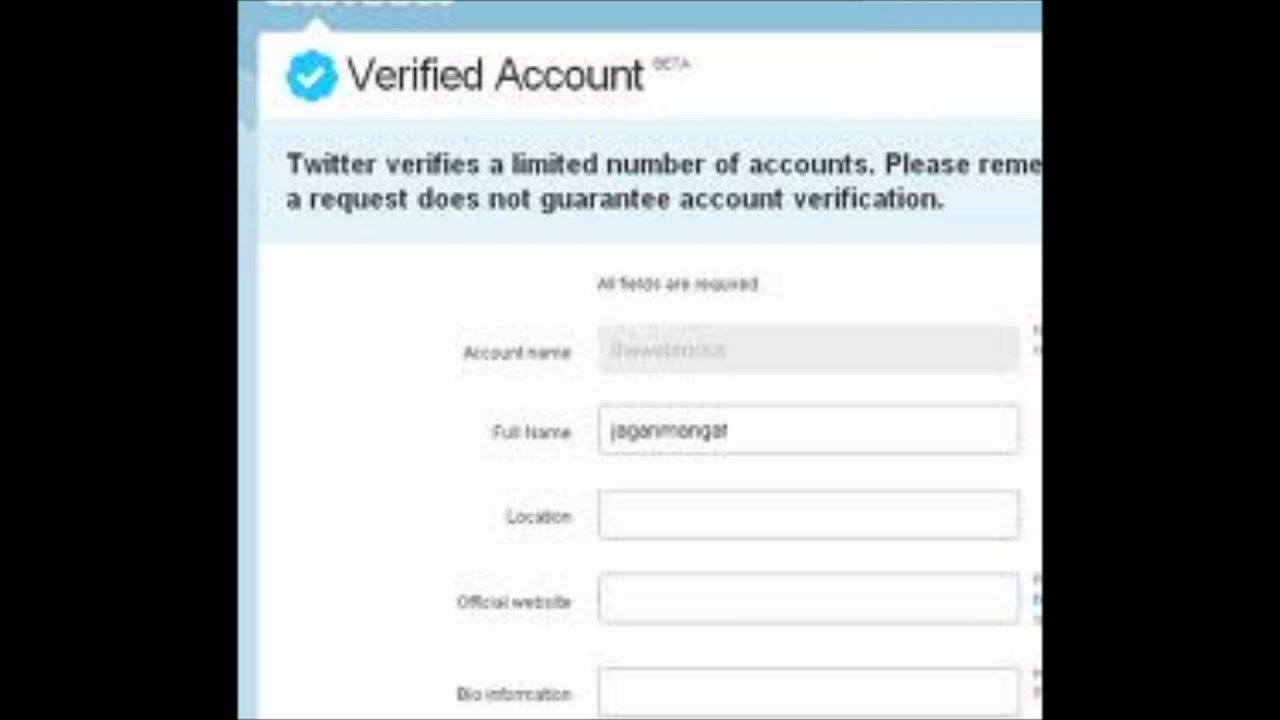 How can i get a verified twitter account