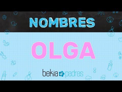 Significado del nombre Olga