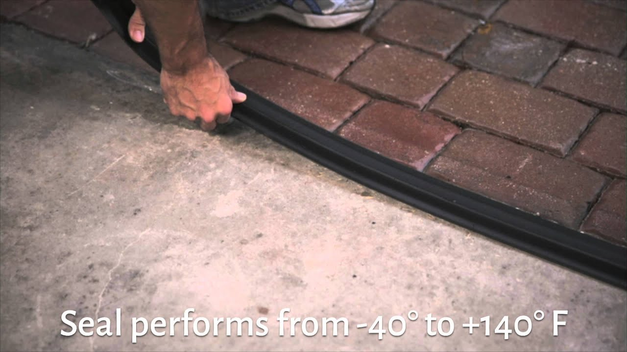 Garage Door Threshold Seals Improvements Catalog Youtube
