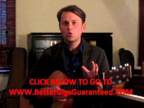 Music Gigs-How To Get Gigs-Wanna Learn How To Make Money With Music?