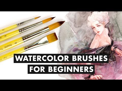 Budget-Friendly Watercolor Brushes For Beginners