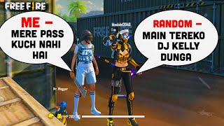 RANDOM PLAYER GIVING ME DJ KELLY || GARENA FREE FIRE || TONDE GAMER
