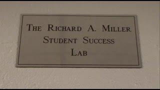 NCCU Dedicates Richard A. Miller Student Success Lab
