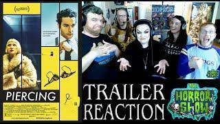 """Piercing"" 2018 Horror Movie Trailer Reaction - The Horror Show"