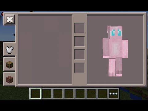 Minecraft PE Mew Pokemon Skin Costume Download YouTube - Skin para minecraft pe de pokemon