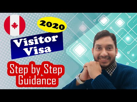 Canada Visitor Visa. Tourist Visa. Online Application 2020