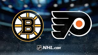 Giroux, Mrazek lead Flyers past Bruins in OT, 4-3