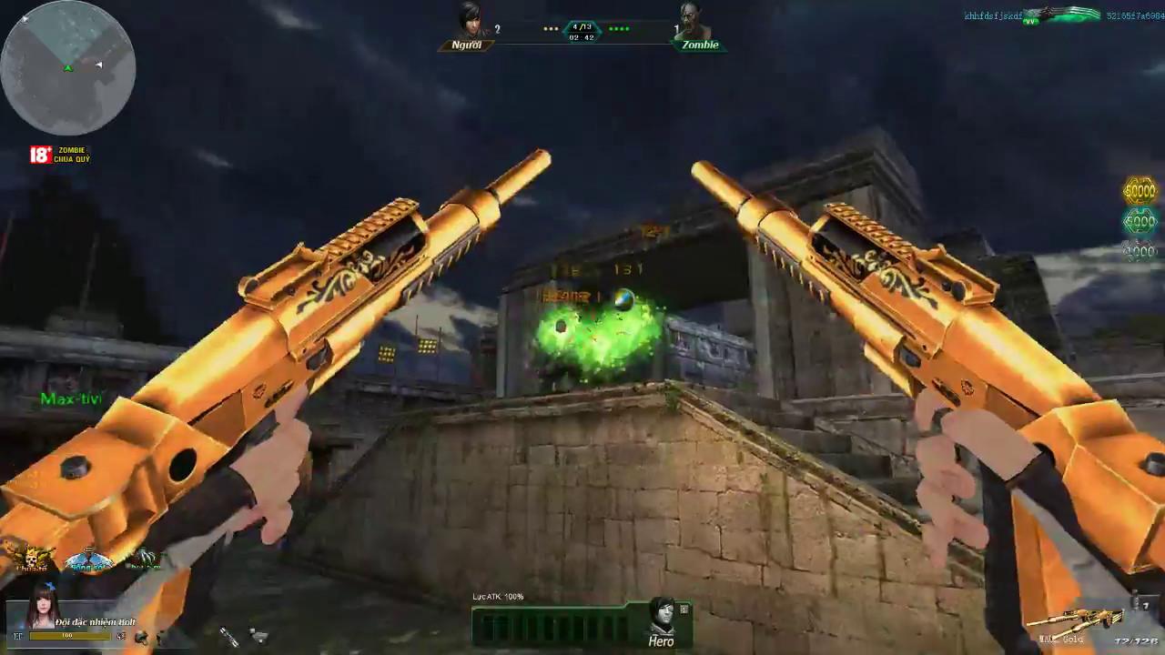 Bình Luận Truy Kích | Cơn Sốt Maul Dual Gold Trong Zombie ✔