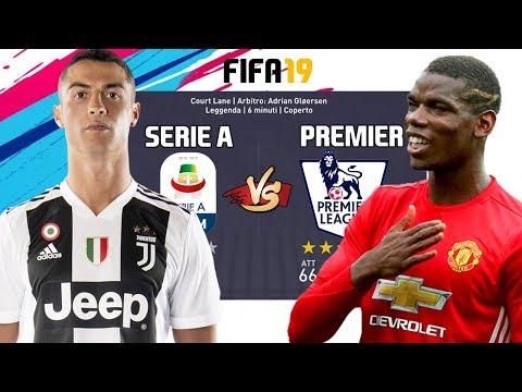 La Top 11 della SERIE A vs Top 11 PREMIER LEAGUE! Partite Epiche Fifa19!
