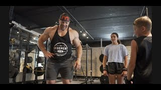 Training My Kids For Speed and Power - Deadlifts and Posterior Chain