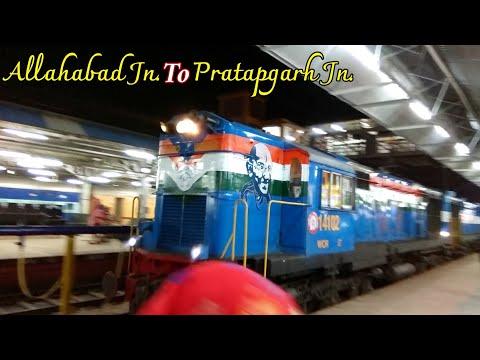 11067 Legendary Saket Express    A little Journey from ALLAHABAD to Pratapgarh Jn.    32th Birthday