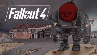 Прохождение Fallout 4 Серия 3 - Цех сборки машин Корвега