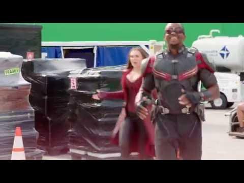 'Captain America  Civil War' Exclusive BTS Clip  Pairing Up