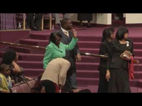 Post Church Praise Break....