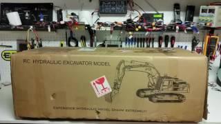 CSMI : Part 1 Ready to run Radio Contol Excavator unboxing