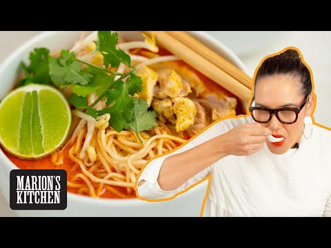 My EASIEST Curry Mee Noodle Soup Recipe 🙌💯🙌💯 | Marion's Kitchen