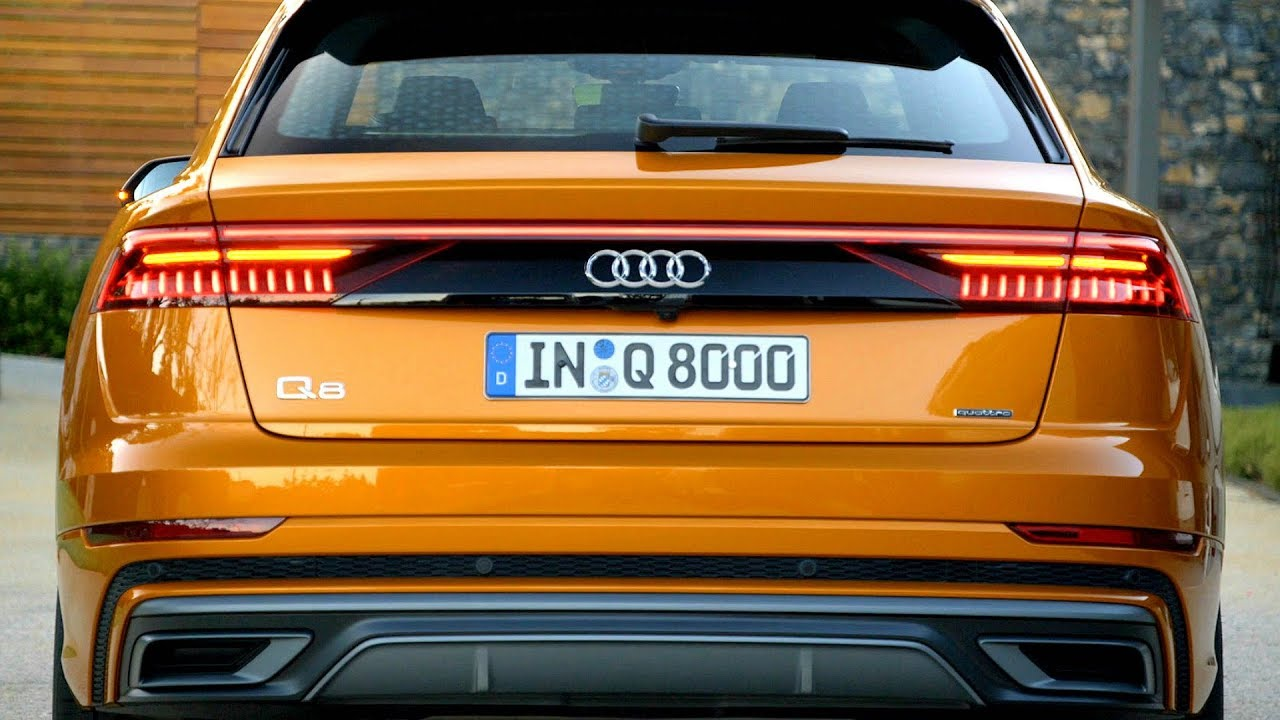 2019 Audi Q8 Elegance Of A Luxury Coupe With The