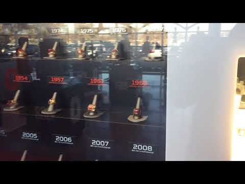 Ohio State's display case of rings