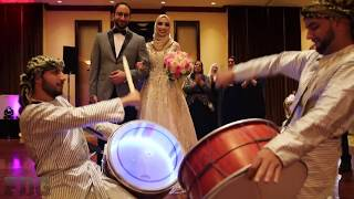 Wedding Zaffa Entrance With Freedom Dabka Group!
