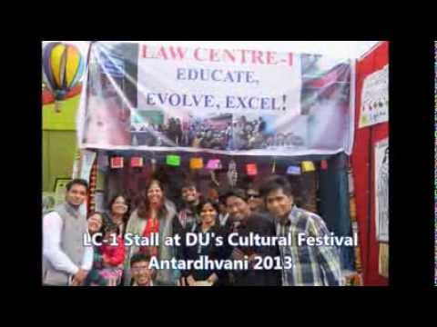 Welcome to Law Centre - 1, University of Delhi : Orientation Video