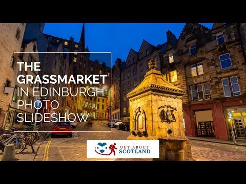 The Grassmarket in Edinburgh - Photo Slideshow