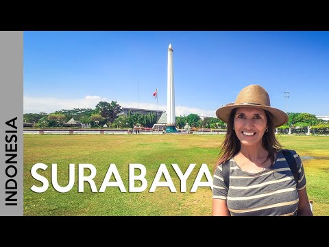 Surabaya, INDONESIA 🦈🐊: friendly people and delicious Java food