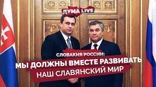 Словакия России: мы должны вместе развивать наш славянский мир [прямая речь]