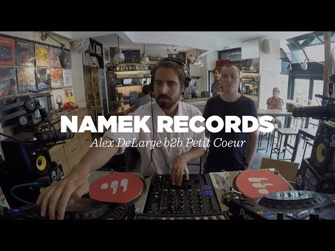 Namek Records (Alex DeLarge b2b Petit Coeur) • DJ Set • Le Mellotron